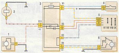 Электросхема ВАЗ 2115 k ВАЗ 2108, 2109, 21099, 2113 ...