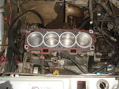 Как собрать 1 7 двигатель без проблем ваз 2113 схема.