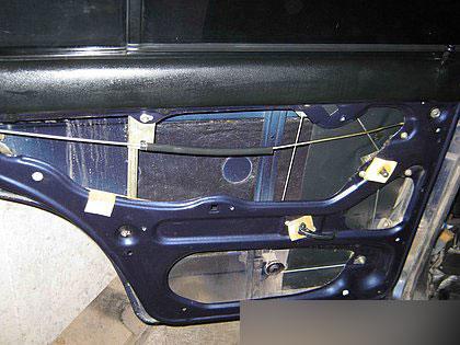 сколько стоит бархотки на... снятие обшивки задней двери ровер 75 фото. замерзает замок багажника ваз2107...