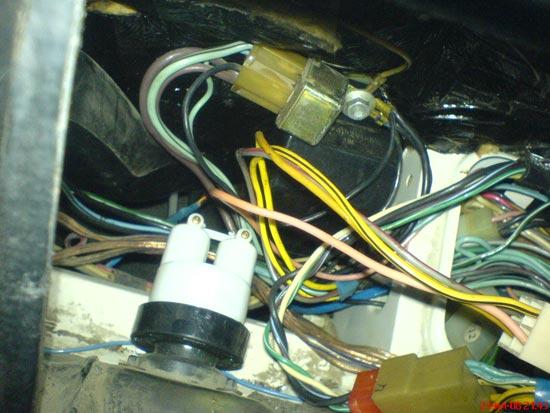 схема подключения спидометра газ 3110.
