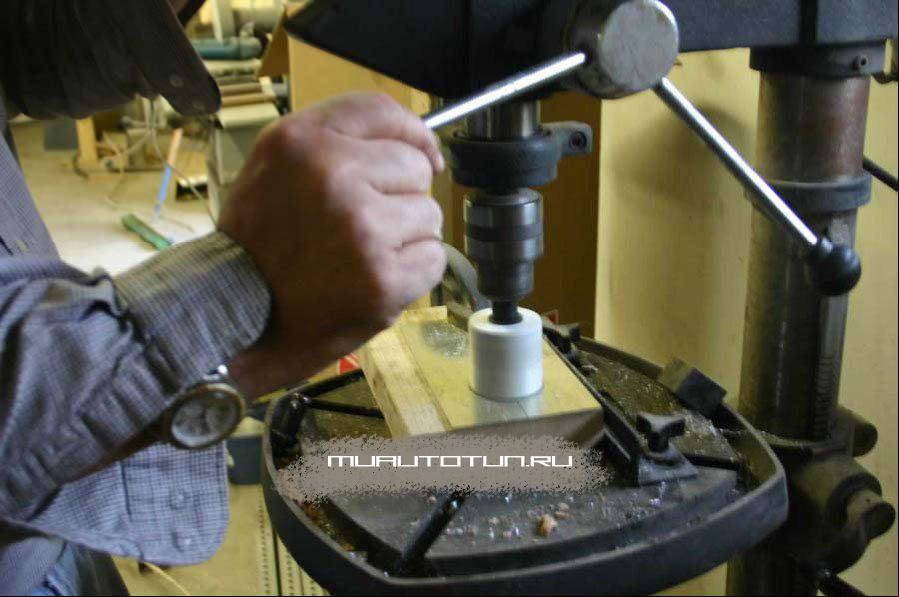 как правильно клееть карбон в салон ваз 2110