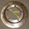 Установка задних дисковых тормозов на ВАЗ-21213.Расточенный тормозной диск от ВАЗ-21213