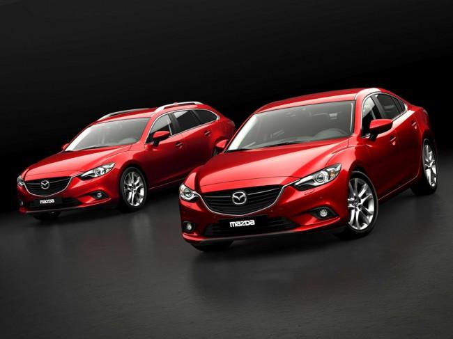 В Париже состоялась презентация новой модели Mazda 6 Station Wagon 2013.